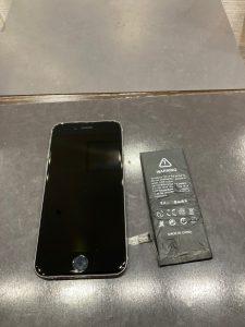 アイフォーン6S バッテリー交換