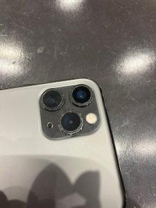 iPhone11Proアウトカメラレンズ交換終了