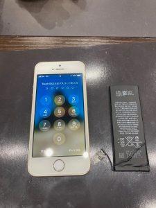 アイフォンSEのバッテリー交換