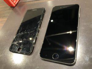 iPhone6 画面交換 画面割れ