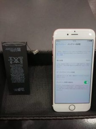 iPhone6s バッテリー交換 電池交換