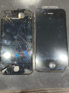 iPhone4の画面交換