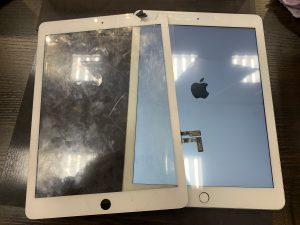 iPad5ガラス交換