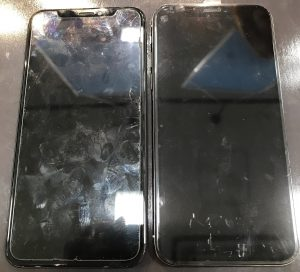 iPhoneXの画面交換
