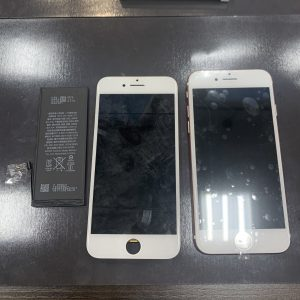 iPhone7 画面 バッテリー