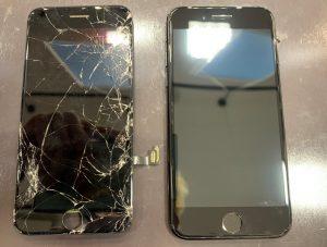 iPhone7の画面修理