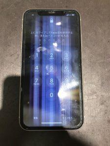 iPhoneの液晶が破損してしまった