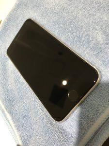 iPhoneガラスコーティング施工後