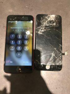 アイフォンSE2画面修理