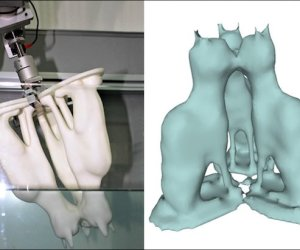3D Scanning - water dipping