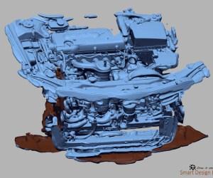 Quét 3D động cơ ô tô
