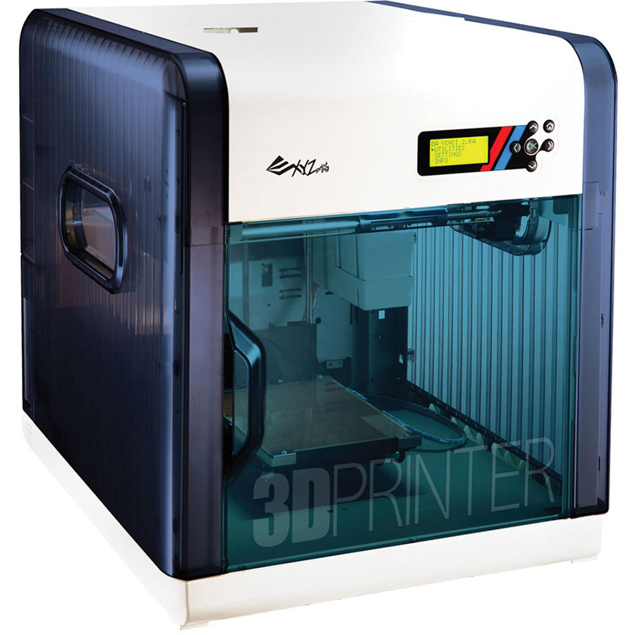 Five 3D Printers under $1600 - XYZprinting da Vinci 2.0 Duo