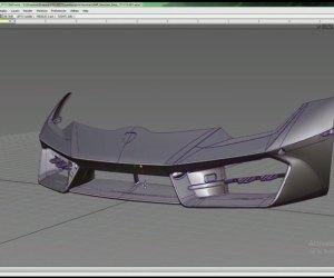 Reverse Engineering Car Bumper - Evatronix 5