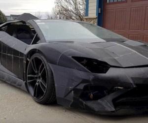 Ông bố dùng công nghệ in 3D làm xe Aventador S