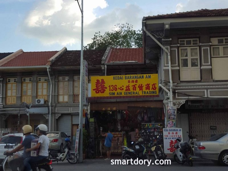 Shopping in George Town's Old General Store Penang