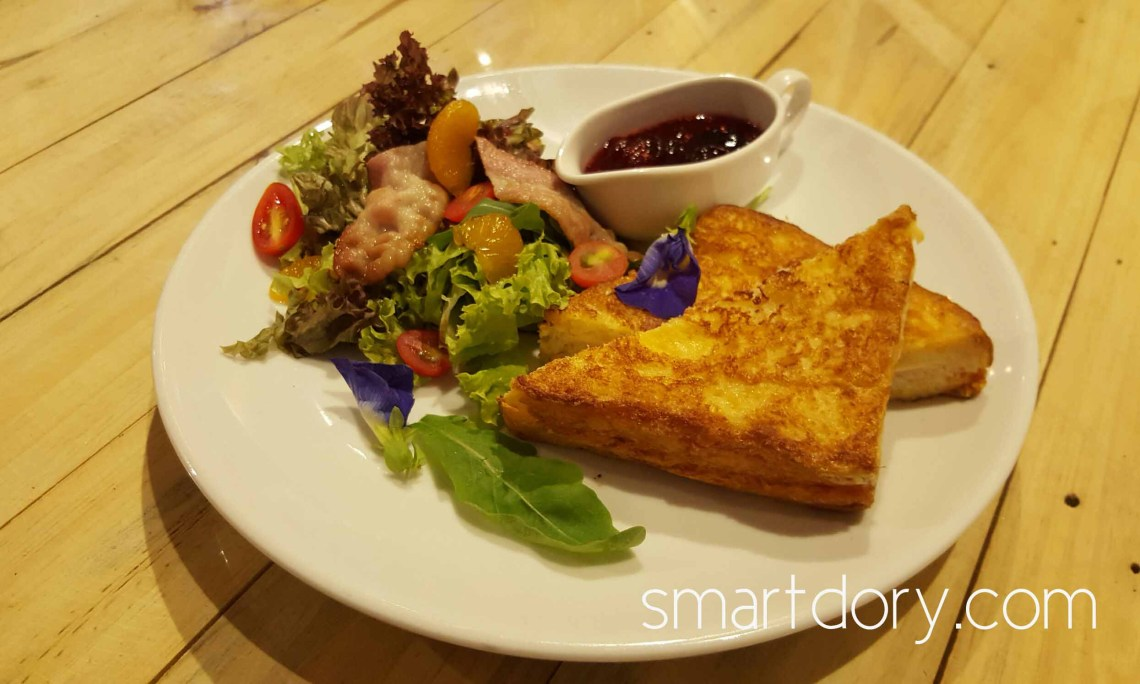 Trendy Cafe Style Western Big Breakfast with Eggs in Penang Soul Cafe