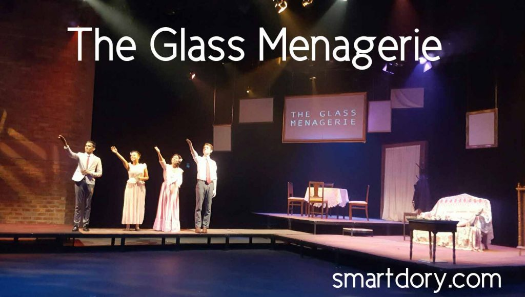 The Glass Menagerie cannot be broken surely in the end?
