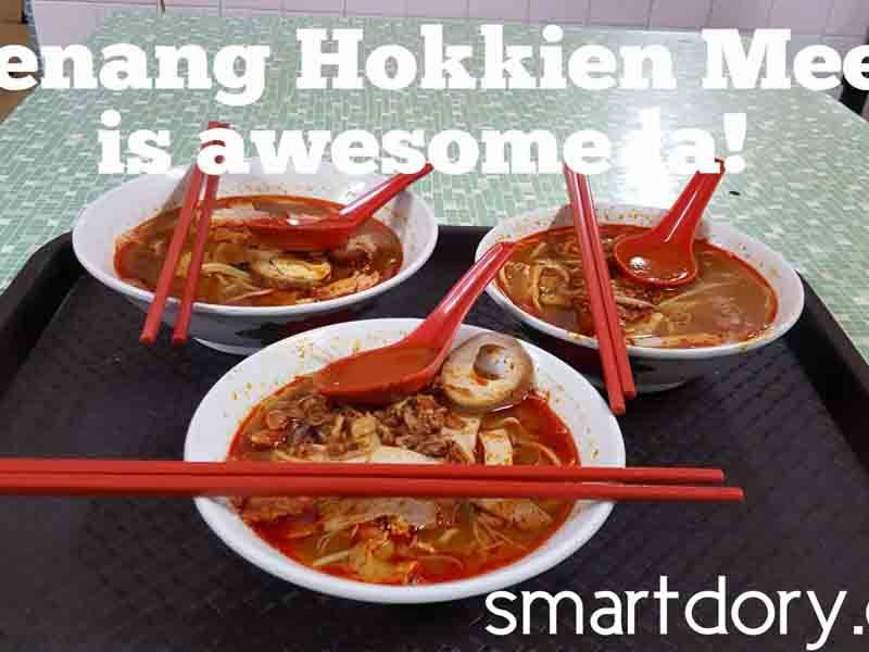 888 Hokkien Mee Night Time Presgrave Street Penang