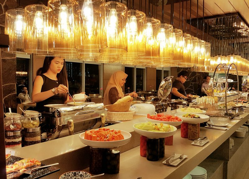 Buffet Review The Wembley Café Penang