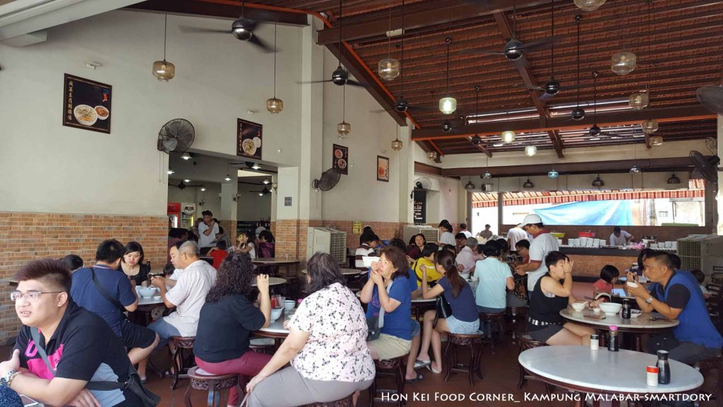 Penang Best Porridge Restaurant Hon Kei Food Corner_Interior