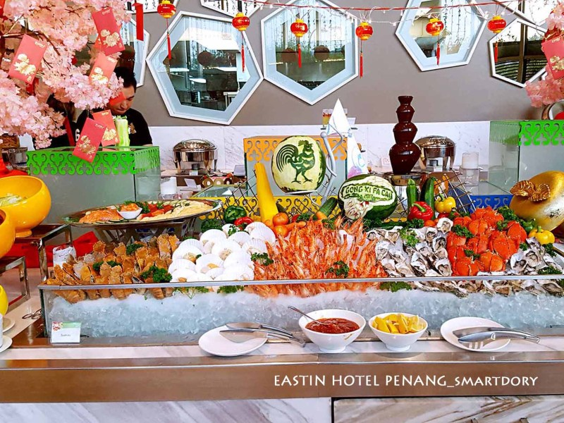 Family Reunion Buffet Dinner 2017 Eastin Hotel Penang