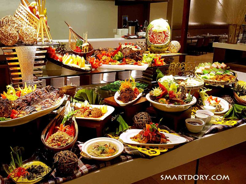 Minangkabau Cuisine | Olive Tree Hotel Buffet Review