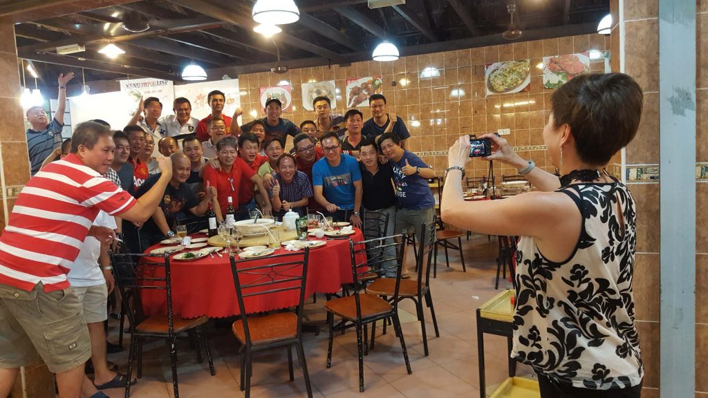 Girls Meet Boys Birthday Bash at Pang Hainan Seafood Penang
