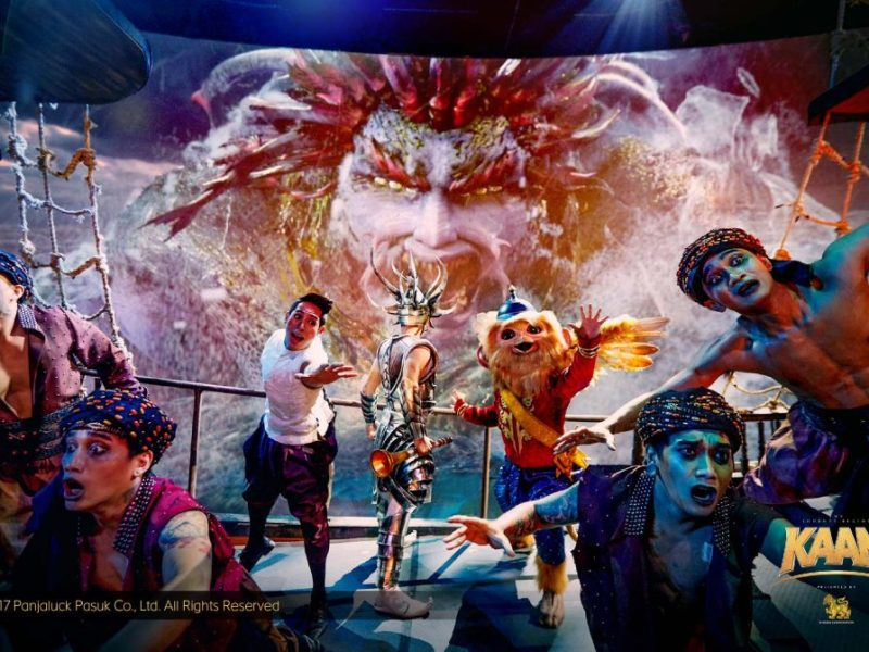 KAAN SHOW:  Spectacular Cinematic Live Experience in Pattaya