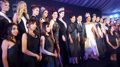Gala Reception Women's Journey Thailand Campaign 2017 Celebrities