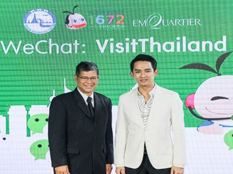Tourism Authority of Thailand launches public WeChat account to attract Chinese Travellers