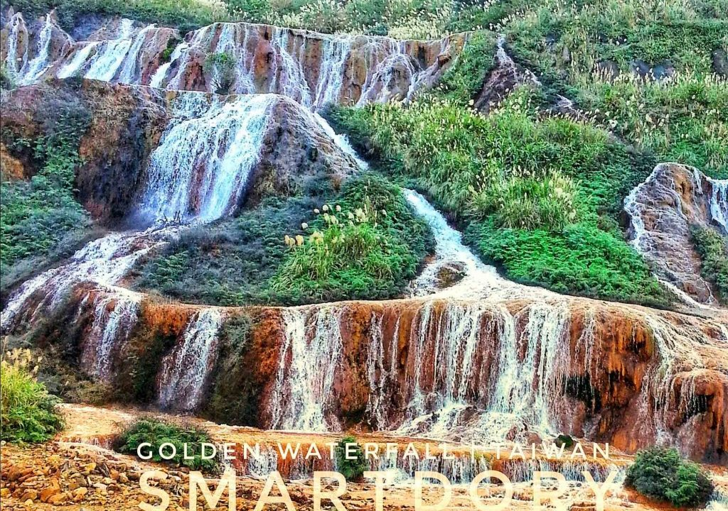 Cascading Riches Golden Waterfall – Northern Taiwan