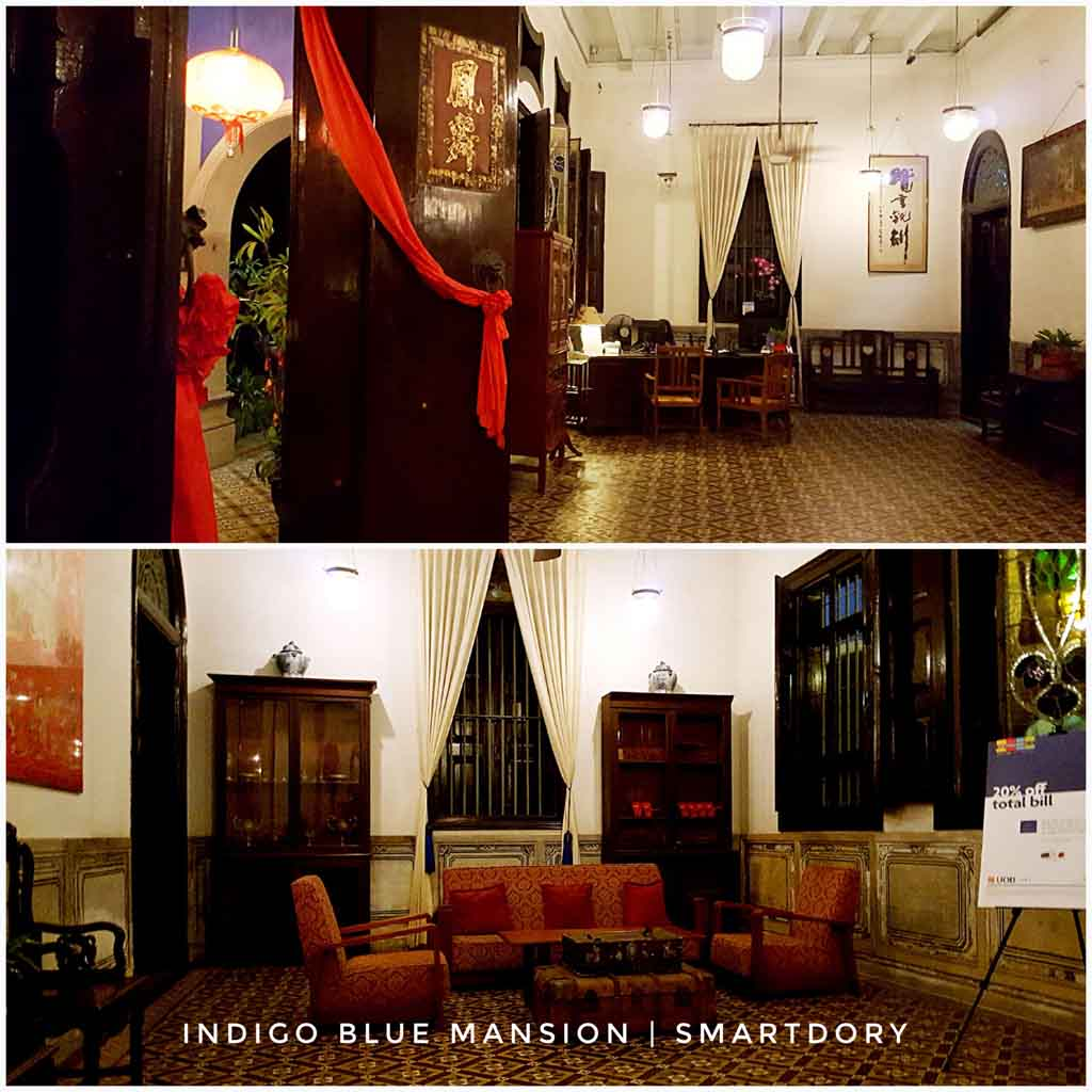 Fine Dining At Indigo Restaurant Blue Mansion, Penang