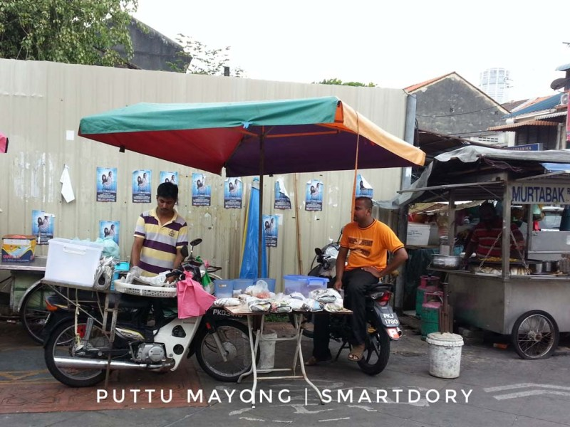 Little India's Delicious Strings of Puttu Mayong Snack