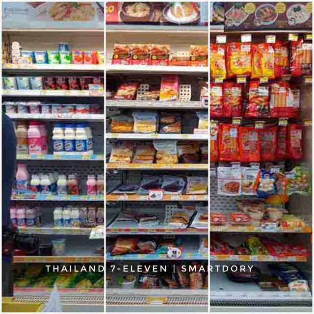 Top 8 Things To Buy 7-Eleven Convenience Store Thailand Chilled Food