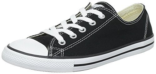 Converse Womens Chuck Taylor All Star Dainty Ox Black is best for walking in Asia