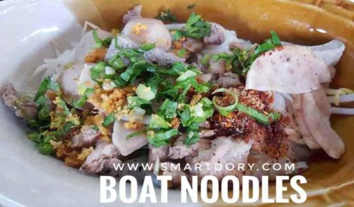 Savor Authentic Thai Boat Noodle Recipe When You Cross Malaysian Border