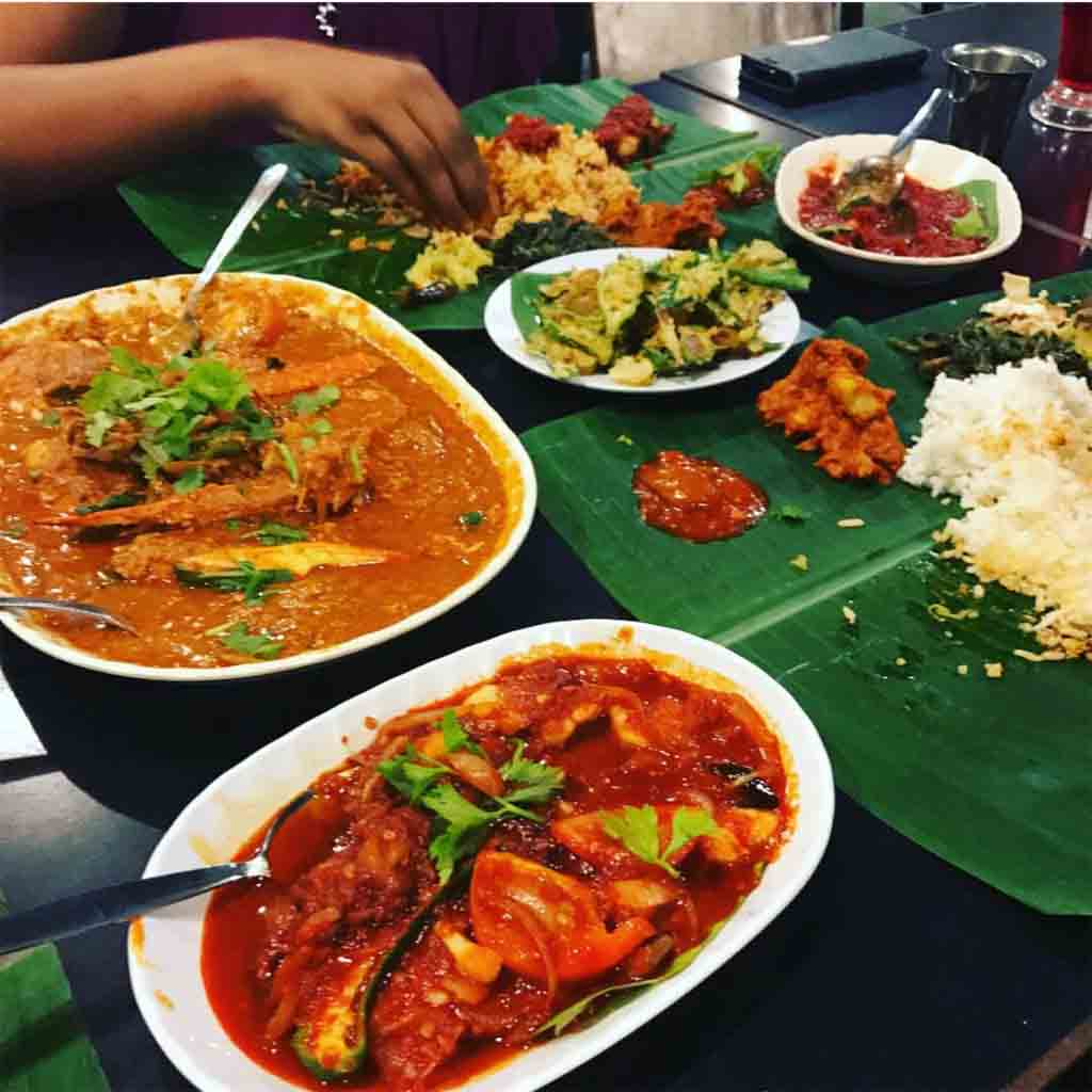 10 Best Halal Food Hunt in Penang for Holiday Makers Passions of Kerala Crab Masala Banana Leaf Rice