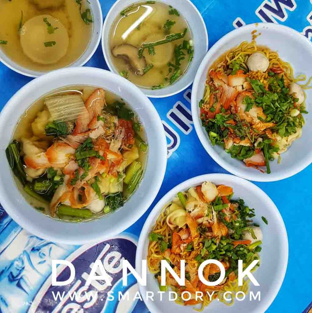Top 10 Street Foods in Dannok Songkhla Province