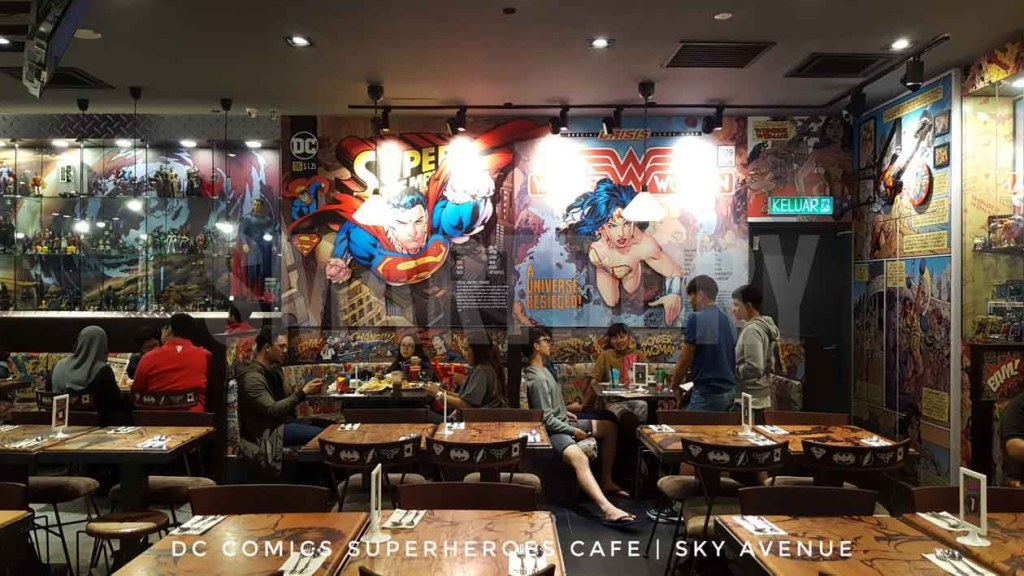 24 hour Food Trail Experience Sky Avenue Genting Highlands_DC Comics