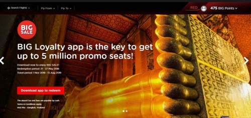 Grab 5 million promo seats with #AirAsiaFreeSeats campaign!