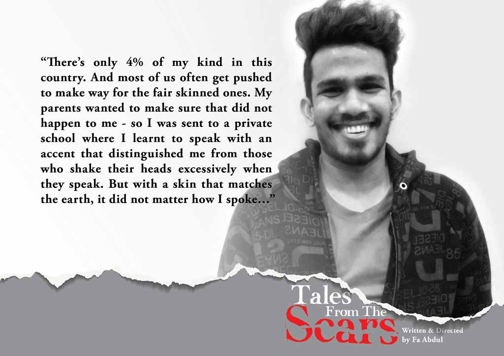 Our Scars Tell The Story - Tales from the Scars