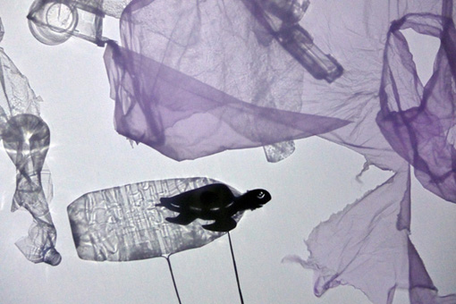 Plastic City - A Shadow Play To Promote Zero Waste