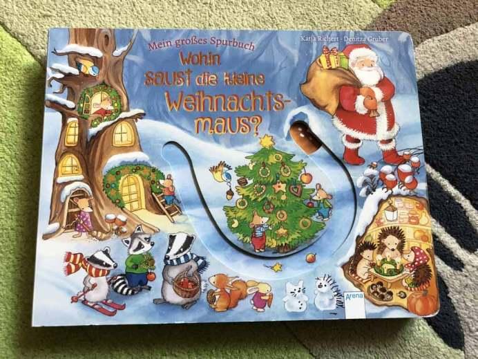 besten Bücher für Kinder ab 3 Jahre Wohin saust die kleine Weihnachtsmaus