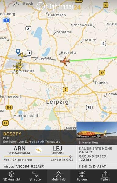 Lernspielzeug ab 6 Jahre Screenshot Flightradar24