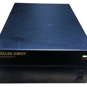 Melles Griot 11NCS101 Nanomotion II Controller w/ (1) 11NIB007 Module (1) 11NIB001 Module