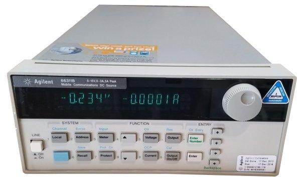Agilent 66311B Mobile Communications DC Source 15V 3A