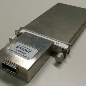 Spirent TestCenter ACC-6065A 40GBE QSFP+ TO CFP Adapter