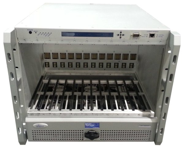 Spirent TestCenter SPT-9000A with licenses & CTL-9002A