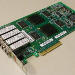 NetApp X2054A QUAD PORT 1/2/4 GBIT PCIE FC INITIATOR/ CONTROLLER