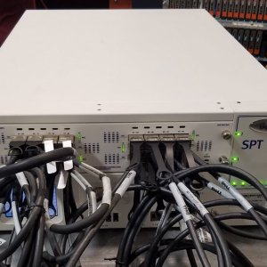 Spirent TestCenter SPT-N4U Chassis with DX2-40G-Q24 High Density Test Module